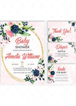 Baby Shower Invitation kit