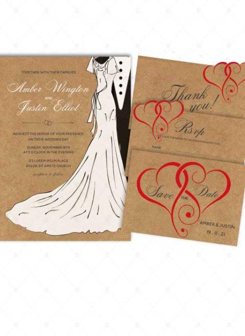 Wedding Invitation Ideas Rustic