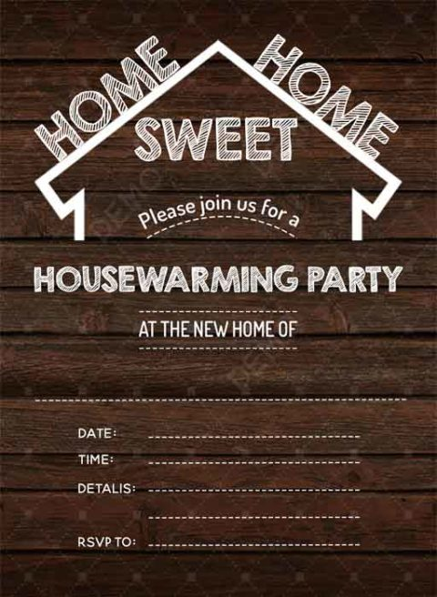 Cards for Housewarming Invitation