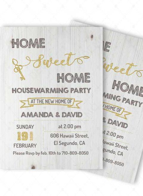 Creative Housewarming Invitation