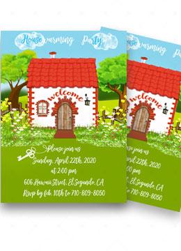 Housewarming Printable Invitations