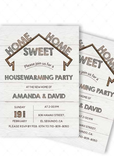 Invitation Cards Housewarming Ceremony