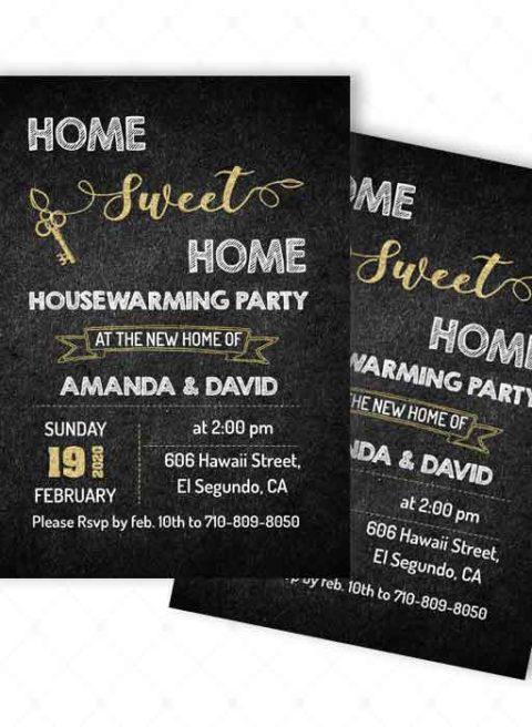 Invitation for Housewarming Ceremony