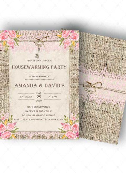 Custom Housewarming invitation