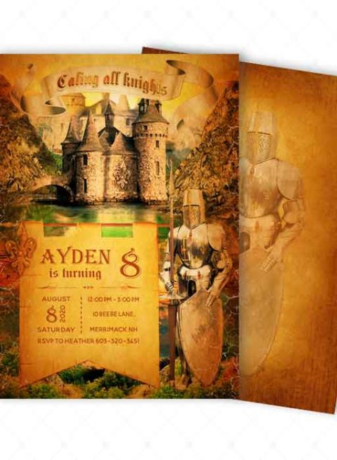 Medieval Party Invitation