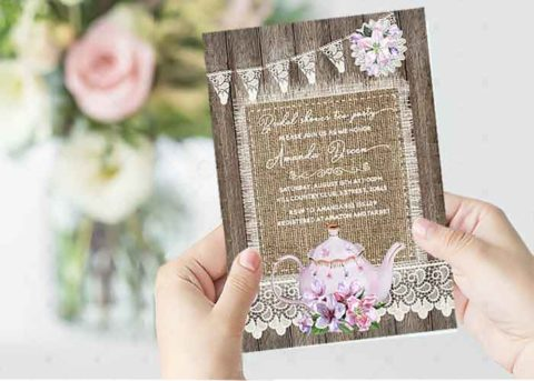 Design Bridal Shower Invitations
