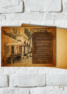 Paris Bridal Shower Invitation printable