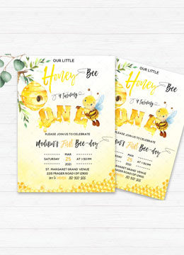 Honey Bee First Birthday Party