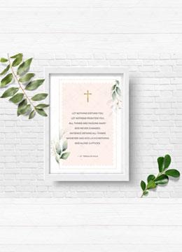 PRAYER OF SAINT TERESA OF AVILA