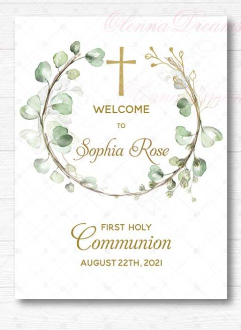 First Communion Sign