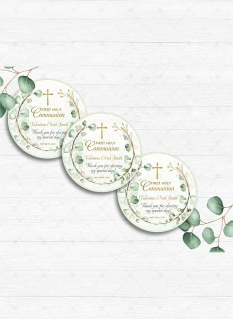 Personalized Thank You Card First Holy Communion