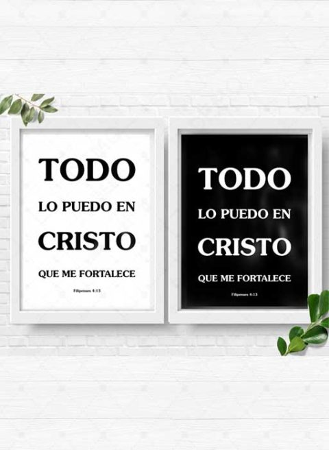 I can do all things through christ in spanish