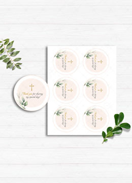 Thank You Cards Baptism