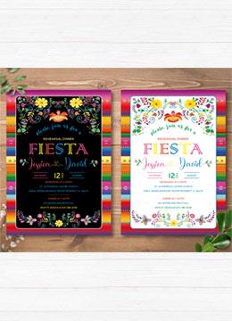 Fiesta Rehearsal Dinner Invitations
