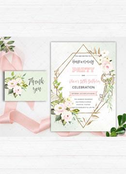 Housewarming and Birthday Party Invitation